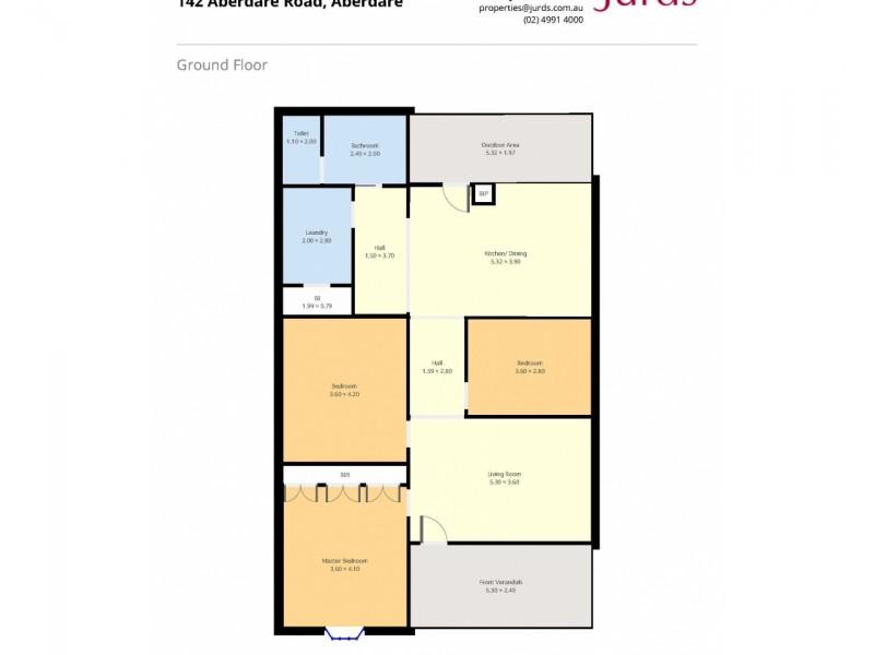 142 Aberdare Road, Aberdare NSW 2325 Floorplan