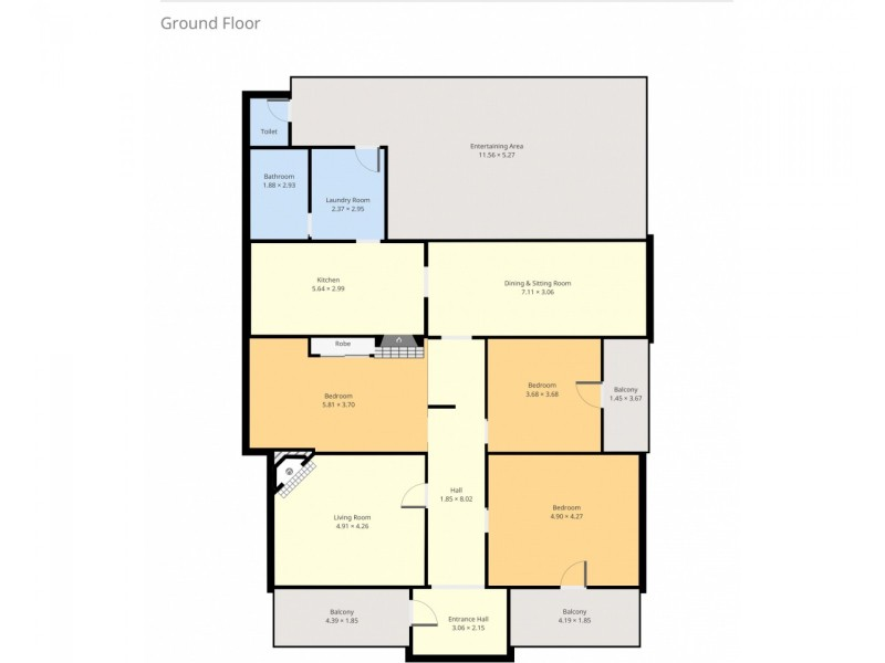 7 Matthew Street, Cessnock NSW 2325 Floorplan