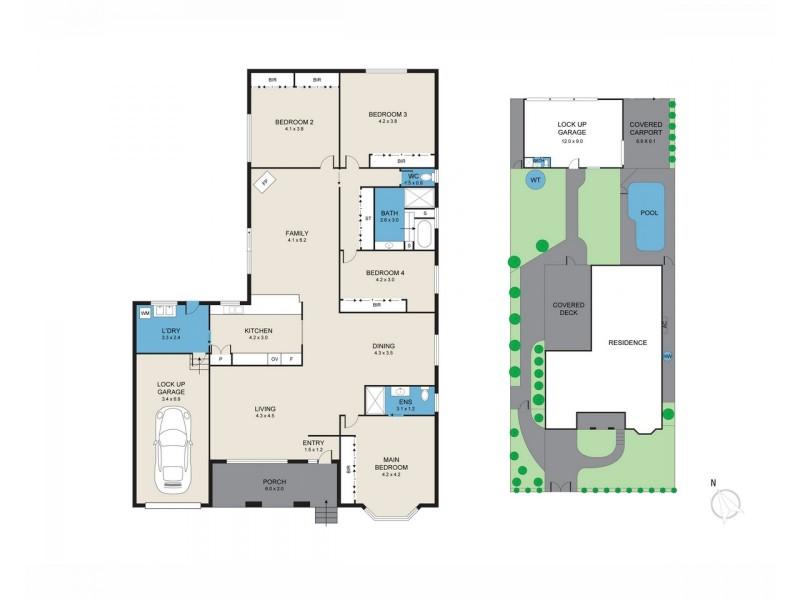 46 Cessnock Street, Aberdare NSW 2325 Floorplan