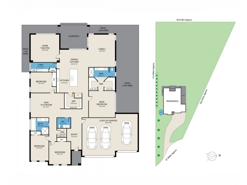 111 Rosehill Road, Millfield NSW 2325 Floorplan