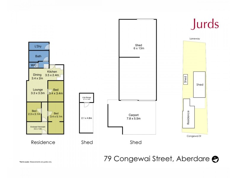 79 Congewai Street, Aberdare NSW 2325 Floorplan
