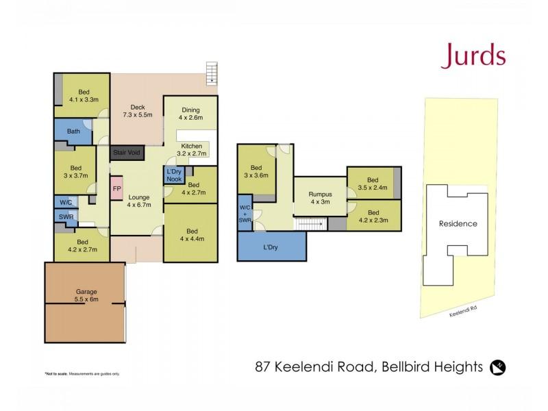 87 Keelendi Road, Bellbird Heights NSW 2325 Floorplan