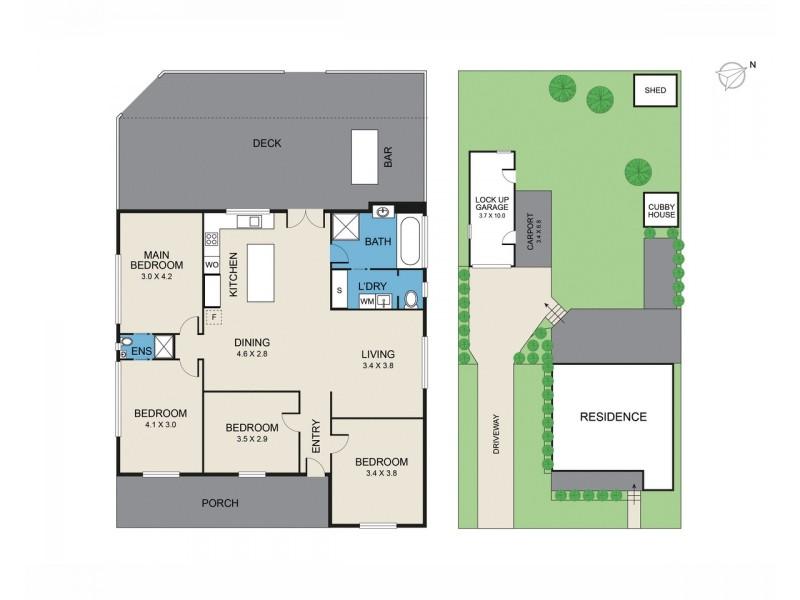 29 High Street, Cessnock NSW 2325 Floorplan