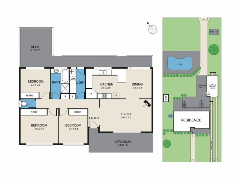 104 Congewai Street, Aberdare NSW 2325 Floorplan