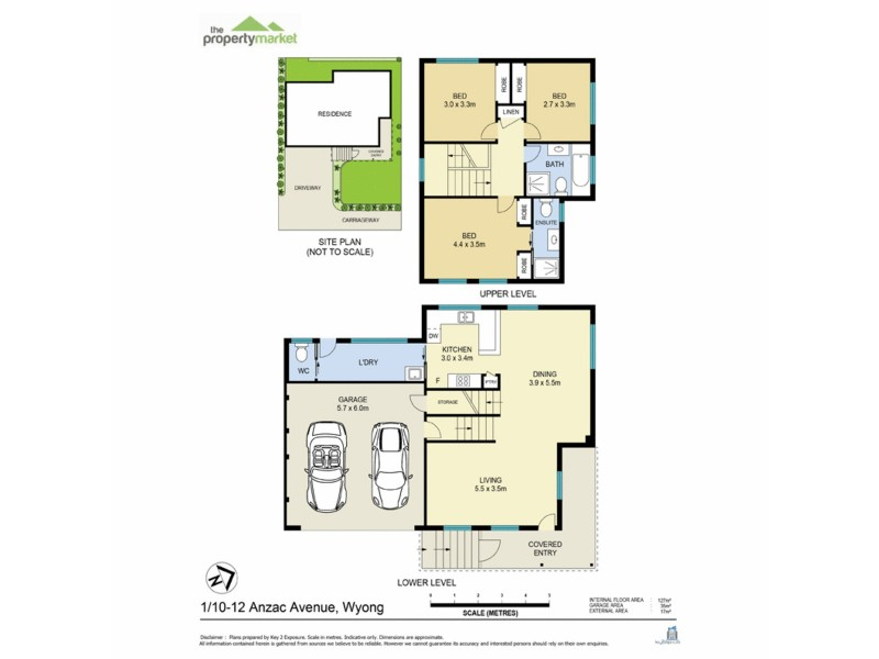 1/10-12 Anzac Avenue, Wyong NSW 2259 Floorplan