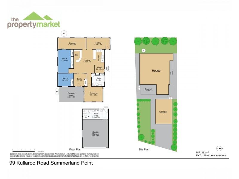 99 Kullaroo Road, Summerland Point NSW 2259 Floorplan