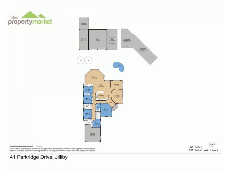 41 Parkridge Drive, Jilliby NSW 2259 Floorplan