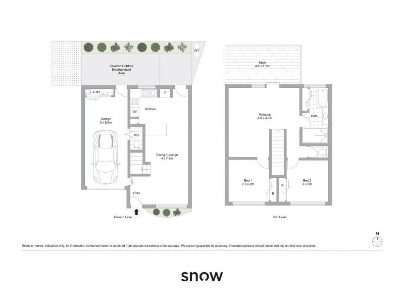 10/66 Tara Street, Wilsonton QLD 4350 Floorplan