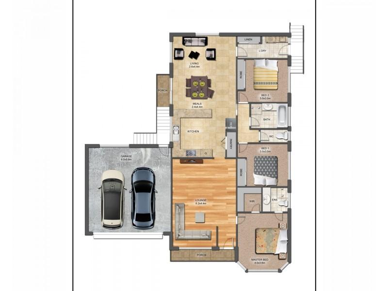 64A Longwood Drive, Epping VIC 3076 Floorplan