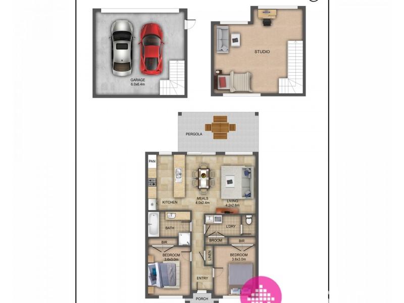 6 Pittard Walk, Epping VIC 3076 Floorplan