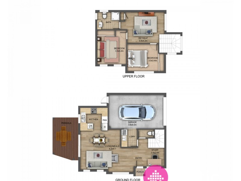 5/13 Blainey Cresent, Epping VIC 3076 Floorplan