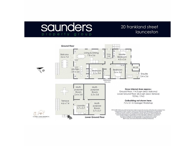 20 Frankland Street, Launceston TAS 7250 Floorplan