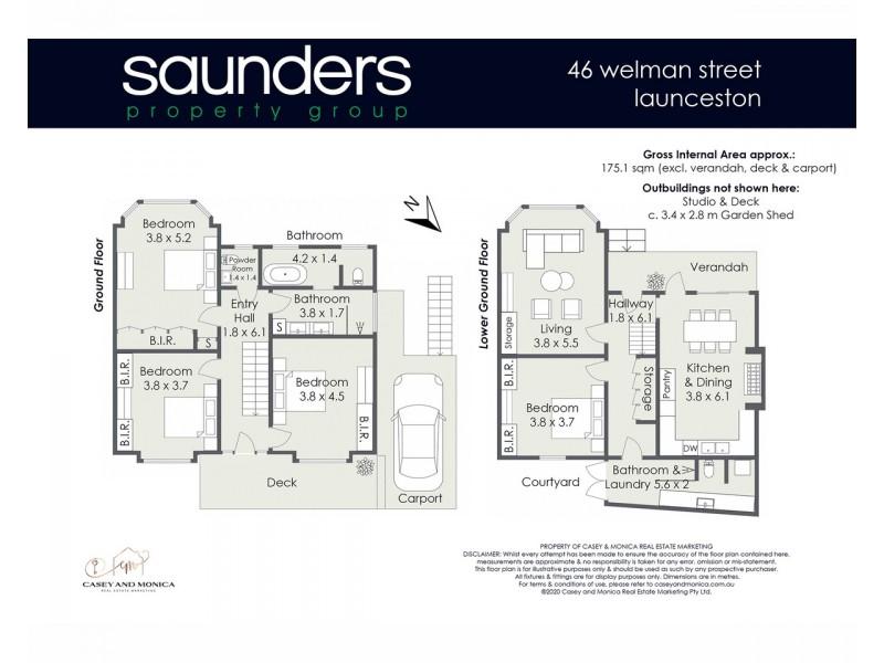 46 Welman Street, Launceston TAS 7250 Floorplan