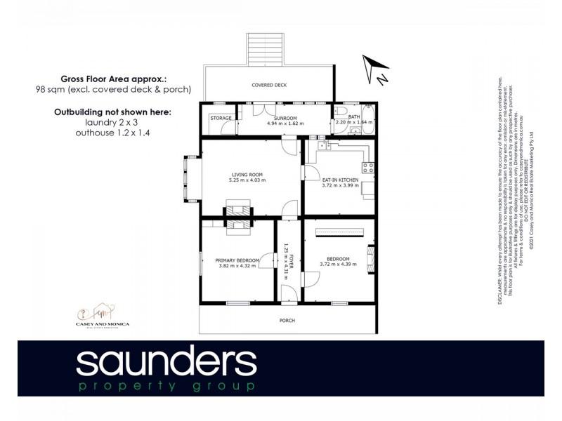 Launceston TAS 7250 Floorplan