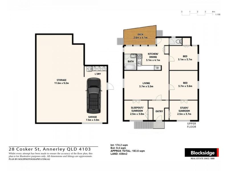 28 Cosker Street, Annerley QLD 4103 Floorplan