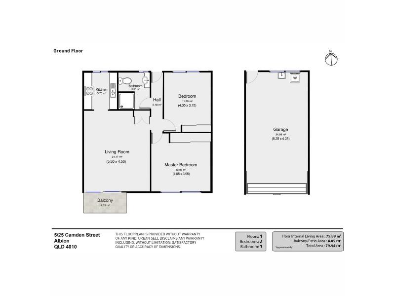 5/25 Camden Street, Albion QLD 4010 Floorplan