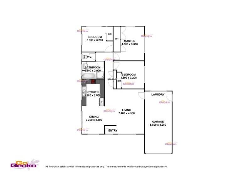 36 Alkeeba Street, Banyo QLD 4014 Floorplan