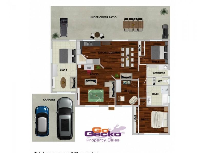 8 Bankswood Court, Camira QLD 4300 Floorplan