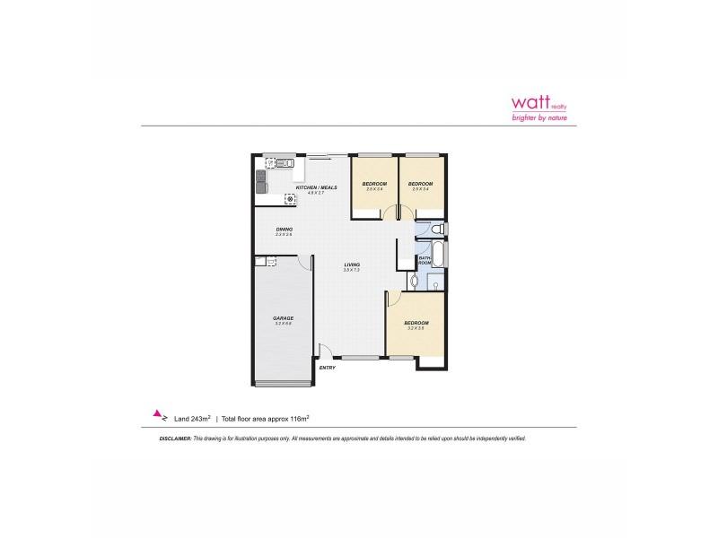 15/9 Orchid Crescent, Fitzgibbon QLD 4018 Floorplan