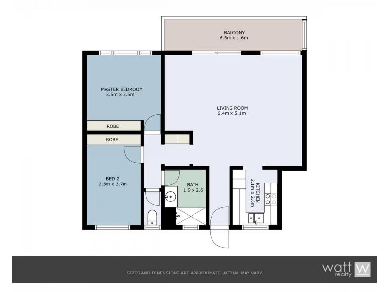 5/29 Lisson Grove, Wooloowin QLD 4030 Floorplan