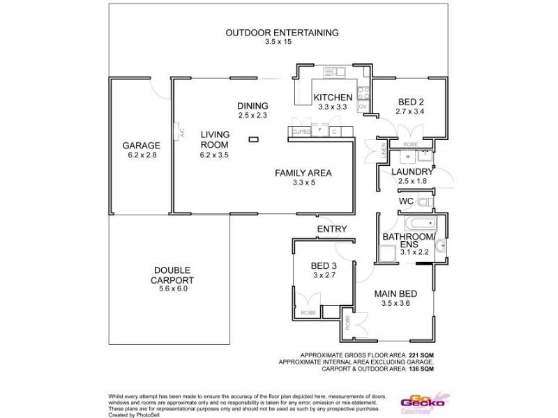 181 Ridgewood Road, Algester QLD 4115 Floorplan