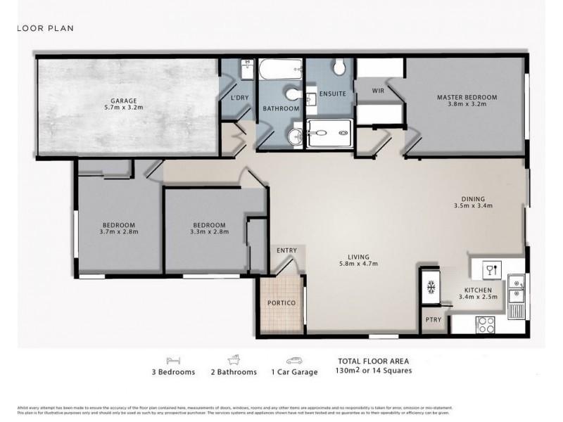 80/590 Pine Ridge Road, Coombabah QLD 4216 Floorplan