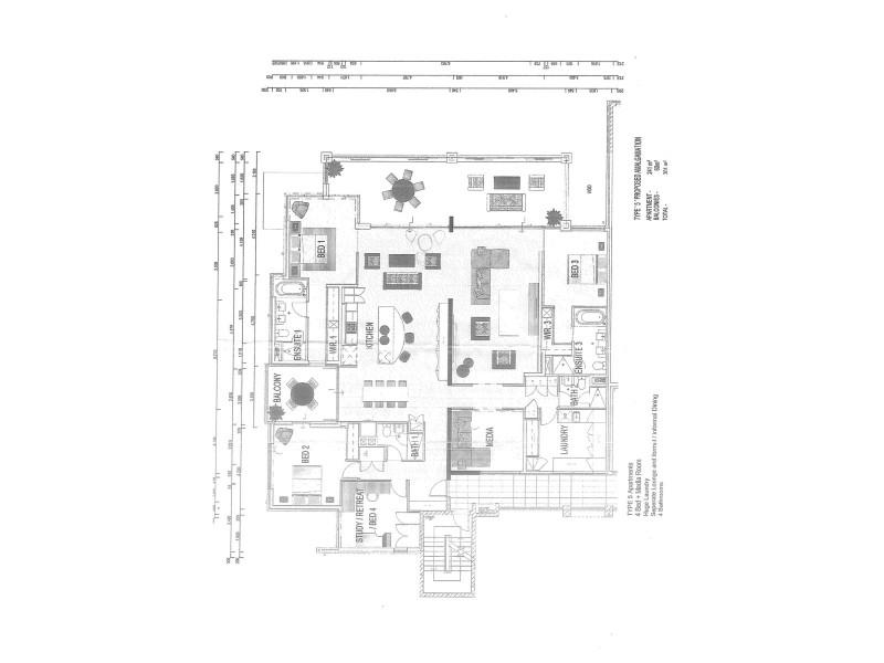 1748/1 Rialto Quay Drive, Hope Island QLD 4212 Floorplan