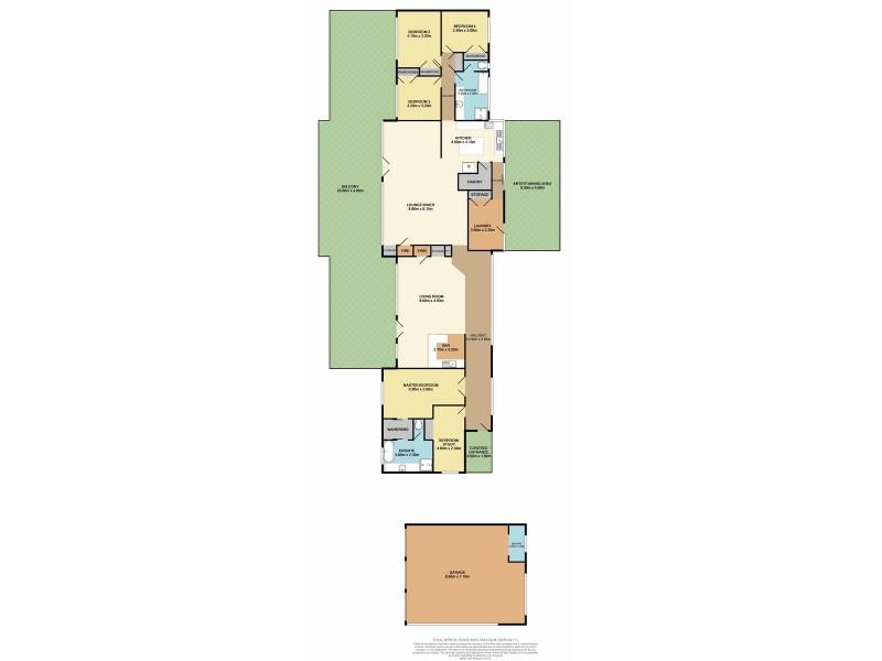 3a Corona Lane, Glenning Valley NSW 2261 Floorplan