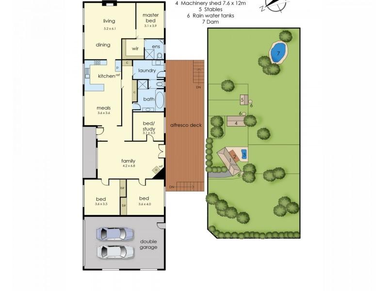 2 Woodlands Road, Cranbourne South VIC 3977 Floorplan