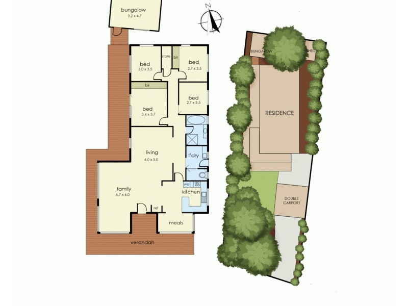 21 Nursery Avenue, Frankston VIC 3199 Floorplan