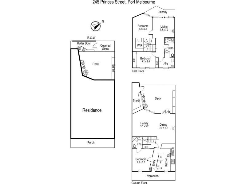 245 Princes Street, Port Melbourne VIC 3207 Floorplan