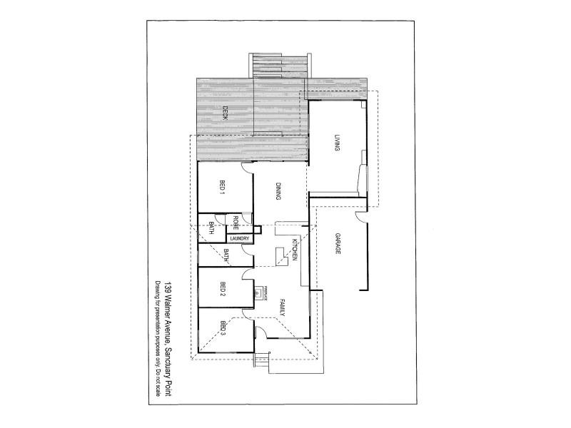 139 Walmer Avenue, Sanctuary Point NSW 2540 Floorplan