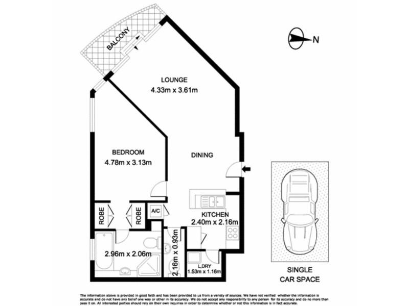 281 Elizabeth Street, Sydney NSW 2000 Floorplan