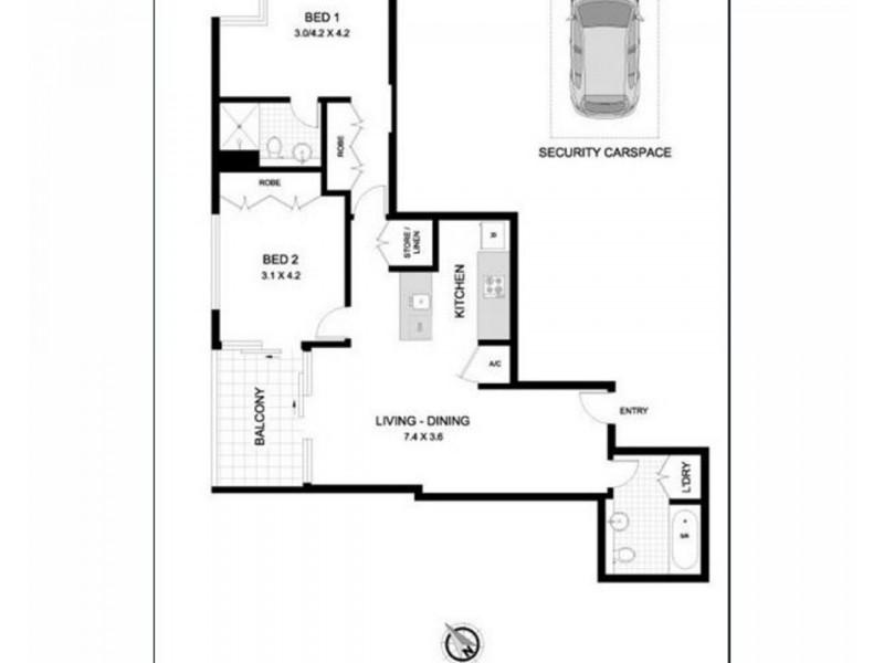 23 Shelley Street, Sydney NSW 2000 Floorplan