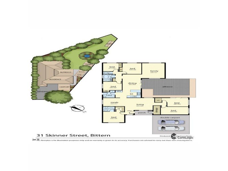 31 Skinner Street, Bittern VIC 3918 Floorplan
