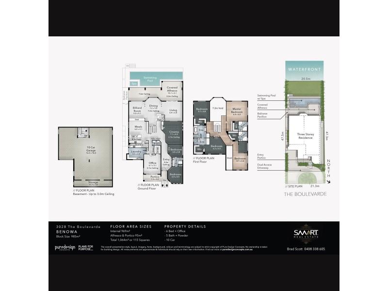 3028 The Boulevarde, Benowa QLD 4217 Floorplan
