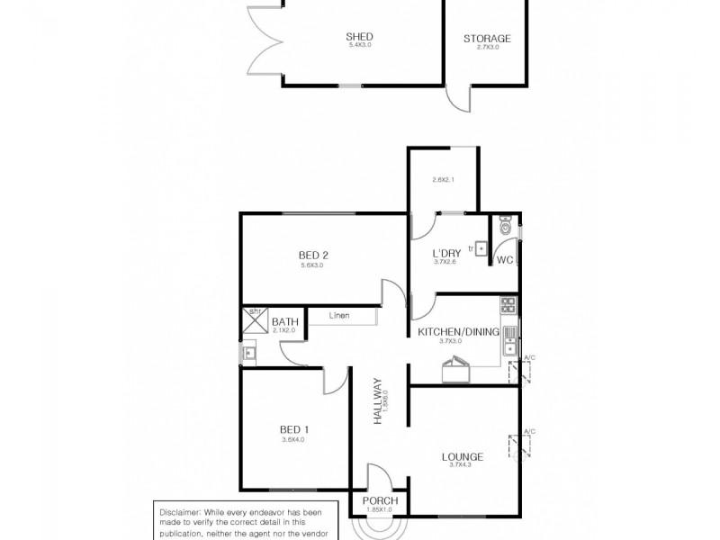 1 Dobbins Street, Port Lincoln SA 5606 Floorplan
