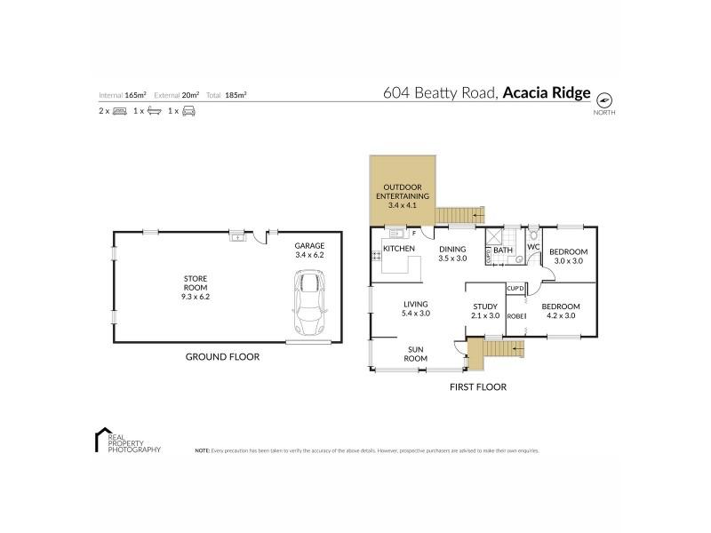604 Beatty Road, Acacia Ridge QLD 4110 Floorplan