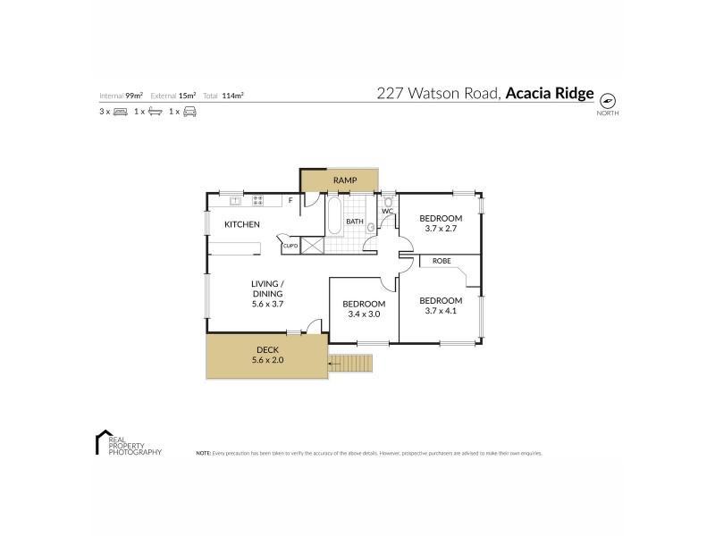227 Watson Road, Acacia Ridge QLD 4110 Floorplan