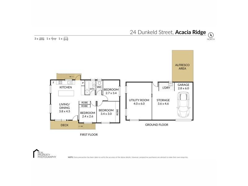 24 Dunkeld Street, Acacia Ridge QLD 4110 Floorplan