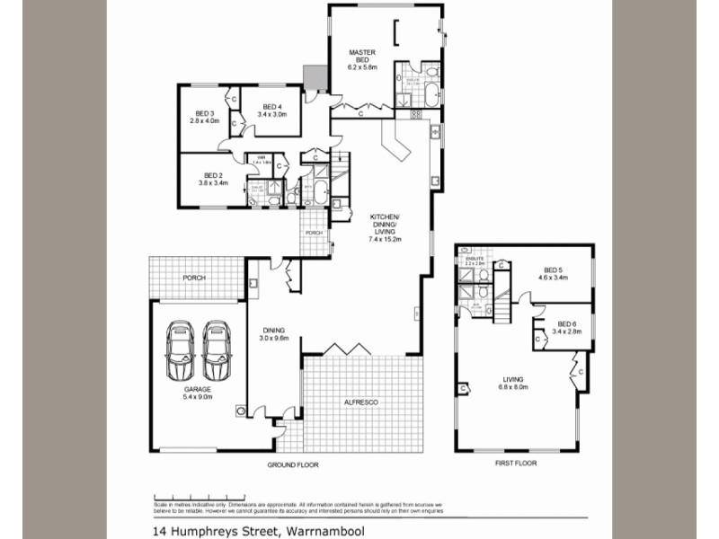 14 Humphreys Street, Warrnambool VIC 3280 Floorplan