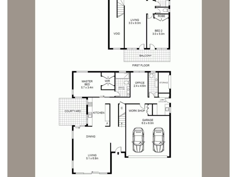 2/94 Gipps Street, Port Fairy VIC 3284 Floorplan