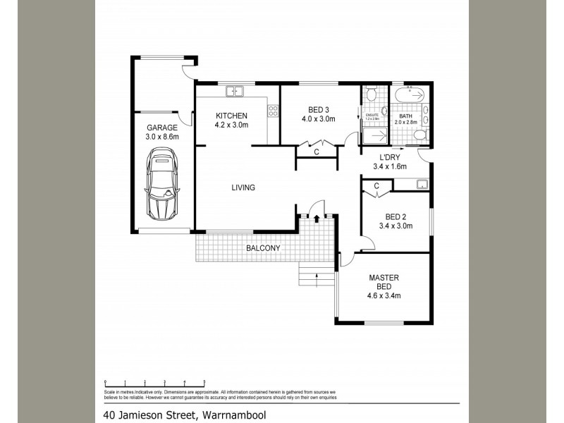 40 Jamieson Street, Warrnambool VIC 3280 Floorplan