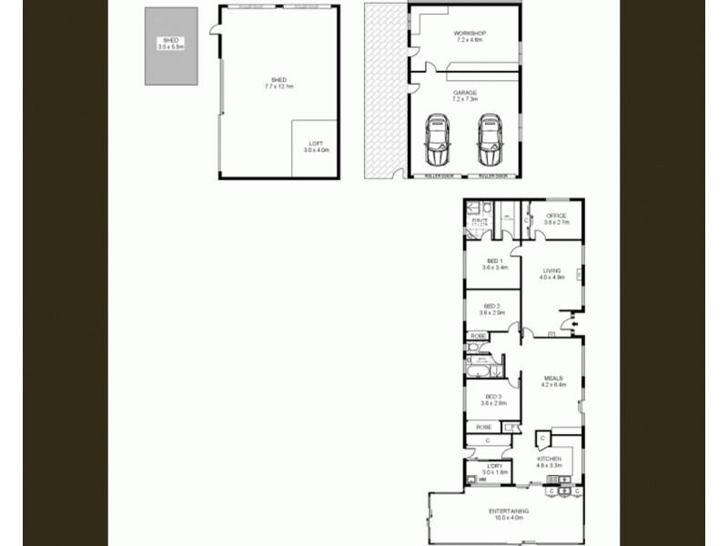 284 Southern Cross Road, Southern Cross VIC 3283 Floorplan