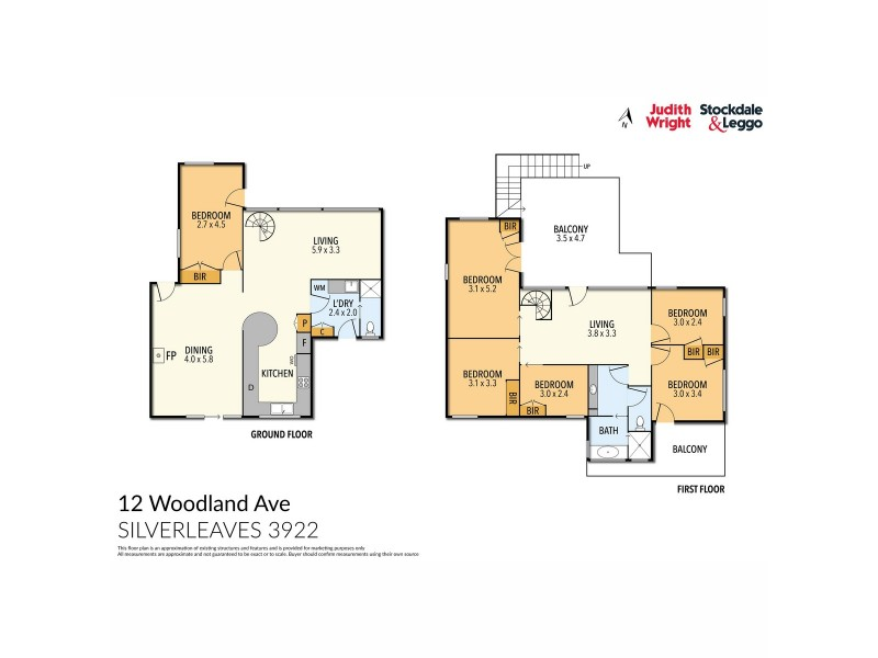 12 Woodland Avenue, Silverleaves VIC 3922 Floorplan