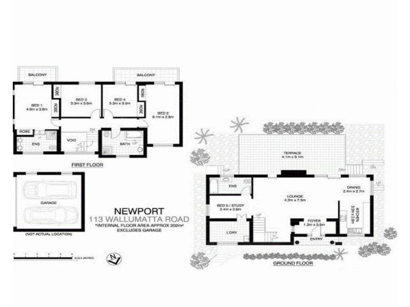 113 Wallumatta Road, Newport NSW 2106 Floorplan
