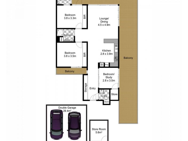11/337-341 Barrenjoey Road, Newport NSW 2106 Floorplan