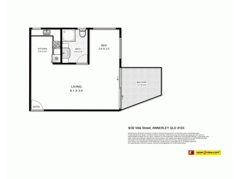 9/30 Villa Street, Annerley QLD 4103 Floorplan