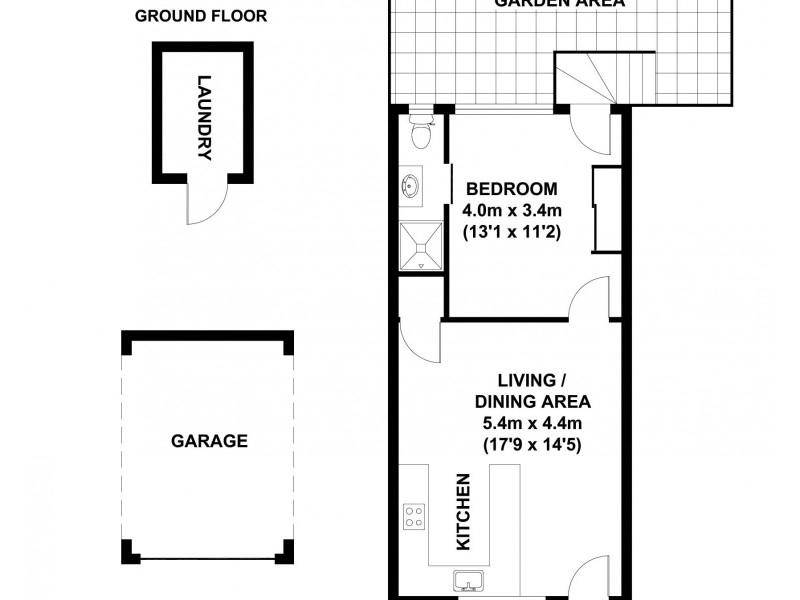 5/131 Mowbray Terrace, East Brisbane QLD 4169 Floorplan