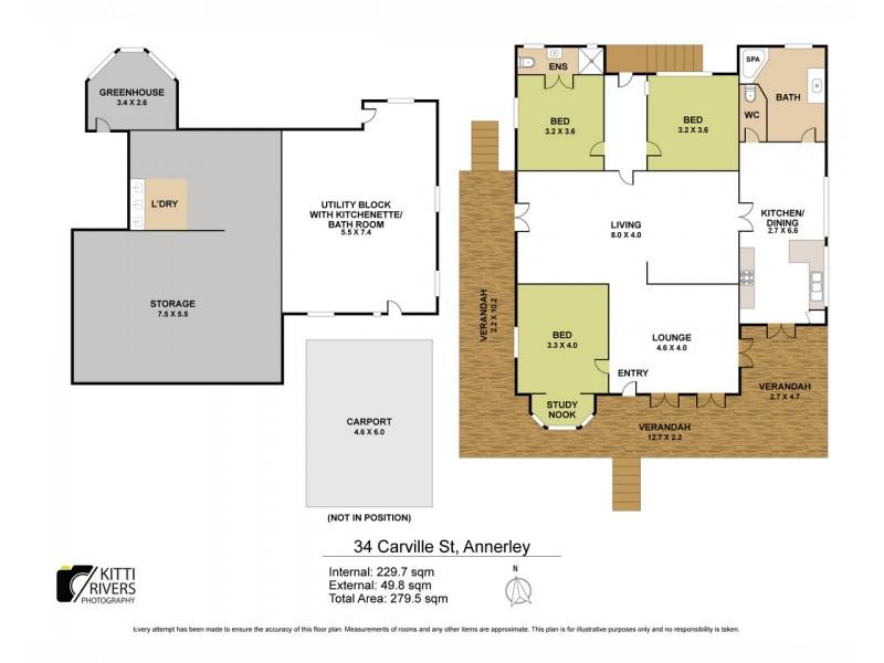 34 Carville Street, Annerley QLD 4103 Floorplan